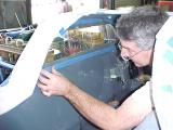 Kent fitting the rear window