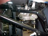 Wiper Motor installed