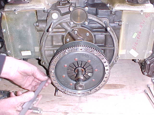 Borg & Beck triple plate clutch assy, Checking installed height