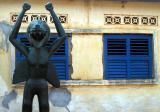 Weird god, Ouidah, Benin