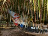 Dead canoe, Ana Mabou, Ghana