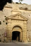Secondary gate to Mdina
