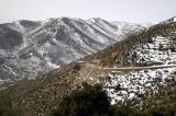 Decending the western side of the Lebanon Range