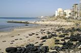 Sadly, with beaches like this, Sidon will never be a beach resort