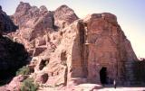 Petra roman tomb