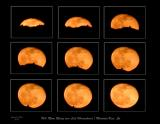 March 8 - Rising Moon Sequence over Lick Observatories