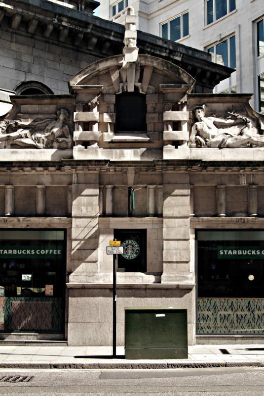 Side of Royal Exchange