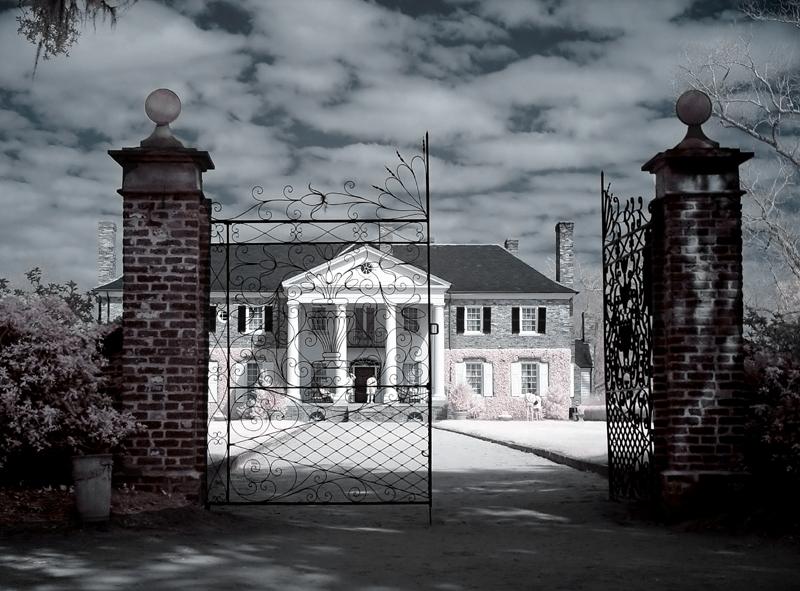 Boone Hall Plantation House IR
