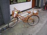 Sturdy bamboo bike