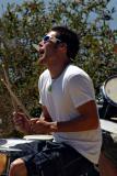 Drummer. California coast