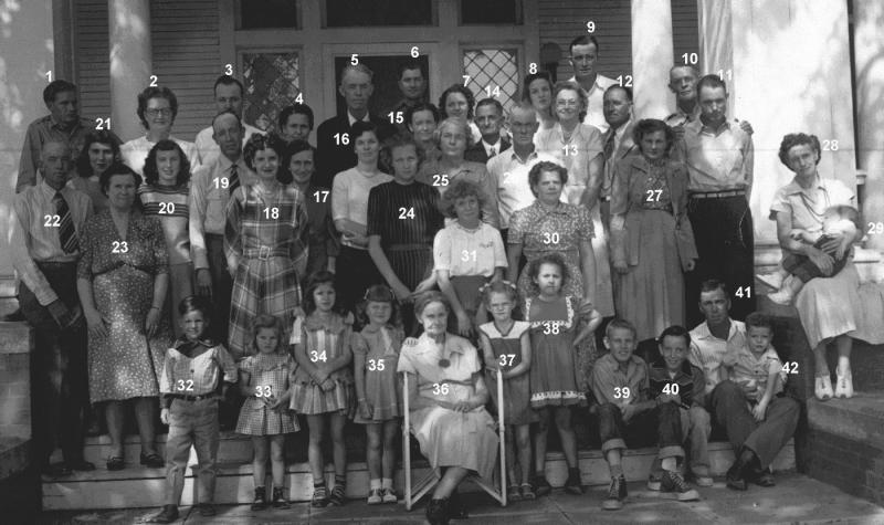 Robert & Sallie Langston Family - 1948-49