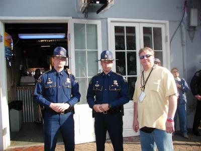 These Two Louisiana Highway Patrolmen Had Just Seen Lt. Snipe.jpg