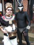 The Leopard King of Luxor Meets A Gargoyle God.jpg