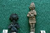 Lead figurines gods