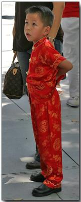 Dressed up for Chinese New Year