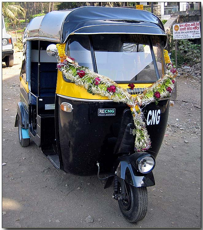 Bombay auto rickshaw