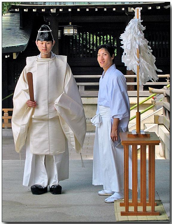 Shrine Guards - Meiji Jingu Shrine, Tokyo