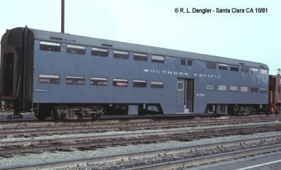 SP 3718 class 85-MLC-2 bi-level gallery car