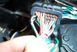 Here is the connector with pins removed