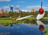 Reflecting Pond at the Minneapolis Sculpture Gardens