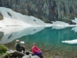 Hiking Companions at Iceberg Lake