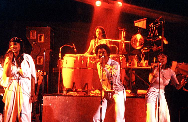 George Duke band with a.o. Napoleon Murphy Brock, Sheila Escovedo, Josie James