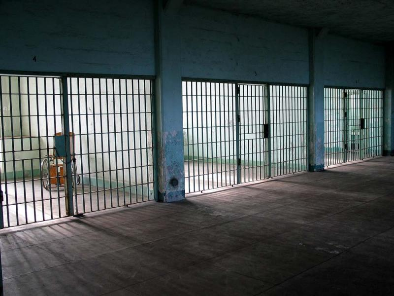 Alcatraz Hospital ward cells