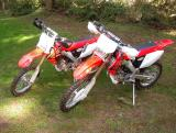 Honda  CRF250R, CRF250X, and CR250R -Picture Gallery