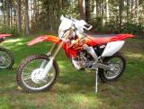 CRF250X Test Bike