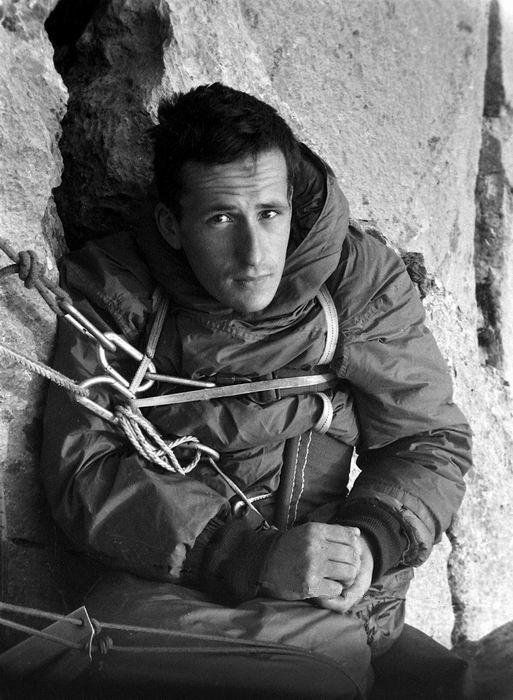 Hervé Butel, bivouac à Ansabère, 1965