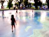Wading pool, Lakeshore Park