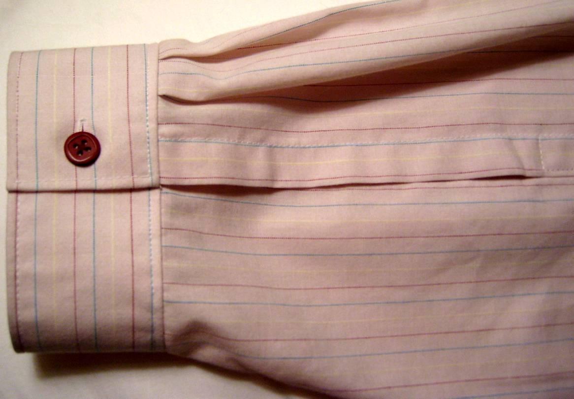 Sleeve Cuff & Placket