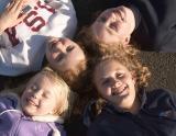Anna, Abi, Gemma & Emmie In The Park