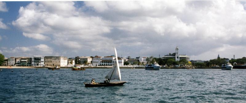 arriving in Stone Town, Zanzibar