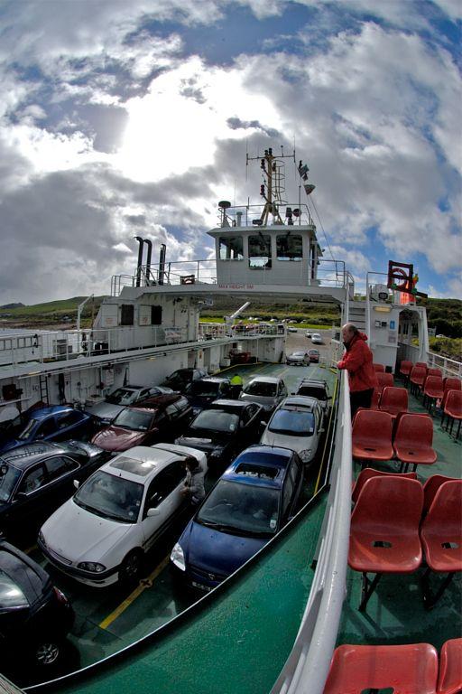 Ferry returns