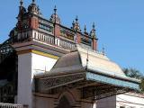 Entrance penthouse of Chettinad Palace