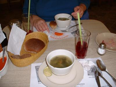 Sopa de Germén El Vegetariano