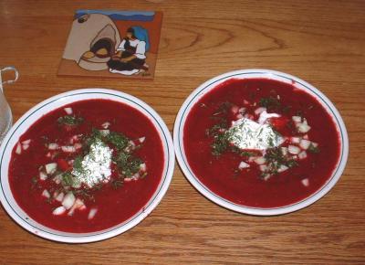 Two Bowls Of Borscht