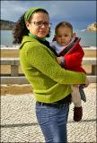 06.02.2005 ... Posing with mom