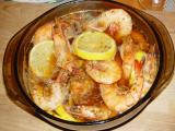 BBQED SHRIMP MADE AT HOME BEFORE THE FIRST PARADE