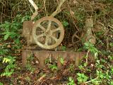 A World War 2 Japanese generator located in the hill of Salamaua
