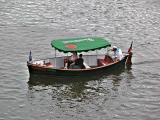 Boat on the Vltava