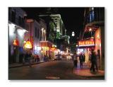 Along Bourbon St.New Orleans, LA