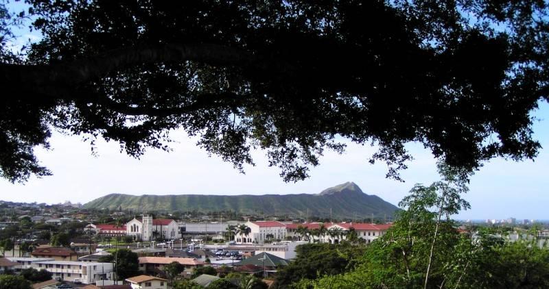 Diamond Head from Chaminade University