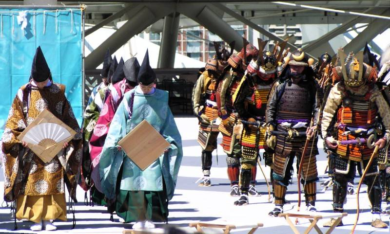 Shinto Priests - Japanese Warriors