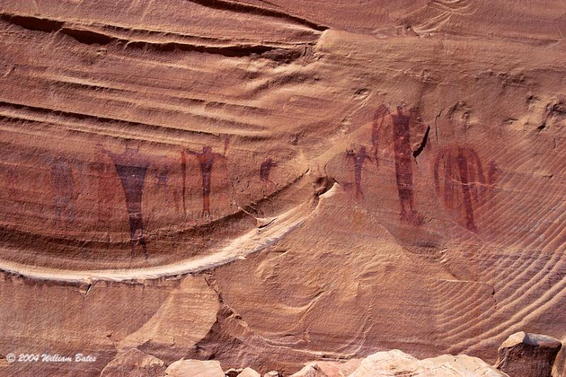 Fremont Indian Pictographs