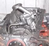 the oil pump in place