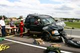 Interstate 4 Ejection over overpass