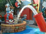 Water cannons, Universal Studios, Orlando, FL