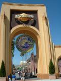 Entering Universal Studios, Orlando, FL